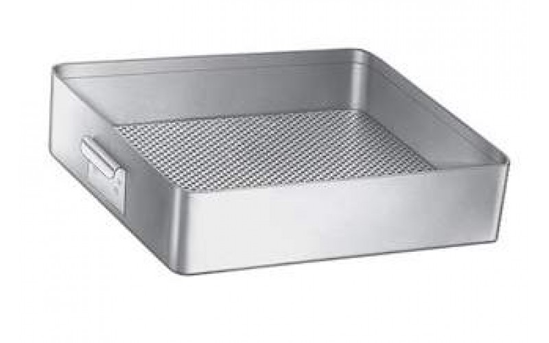 "3-404 Flash Autoclaving Tray 10"" X 6-1/2"" X 2-1/2"" (25.4 X 16.5 X 6.4cm),"