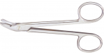 "9-124  Wire Cutting Scissors, 4-3/4"" angled"