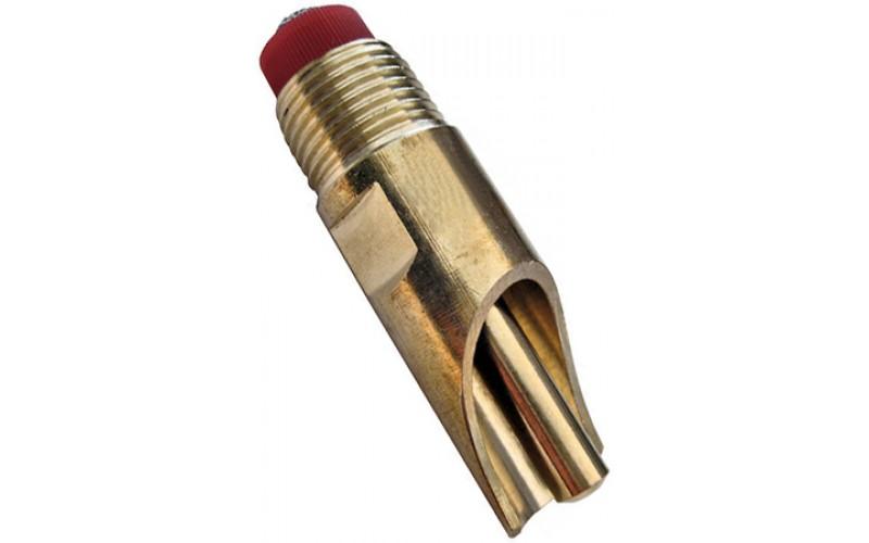 """VI-821501 Flat Brass FLAT, brass, 1/2"""" thread"""
